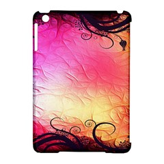 Floral Frame Surrealistic Apple Ipad Mini Hardshell Case (compatible With Smart Cover) by Nexatart