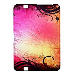 Floral Frame Surrealistic Kindle Fire Hd 8 9