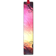Floral Frame Surrealistic Large Book Marks by Nexatart
