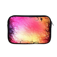 Floral Frame Surrealistic Apple Macbook Pro 13  Zipper Case by Nexatart