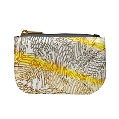 Abstract Composition Digital Processing Mini Coin Purses by Nexatart