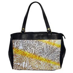 Abstract Composition Digital Processing Office Handbags by Nexatart