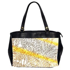 Abstract Composition Digital Processing Office Handbags (2 Sides)  by Nexatart