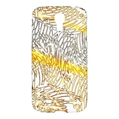 Abstract Composition Digital Processing Samsung Galaxy S4 I9500/i9505 Hardshell Case by Nexatart
