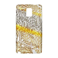 Abstract Composition Digital Processing Samsung Galaxy Note 4 Hardshell Case by Nexatart