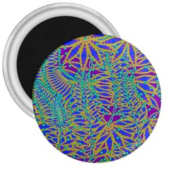 Abstract Floral Background 3  Magnets