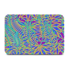 Abstract Floral Background Plate Mats