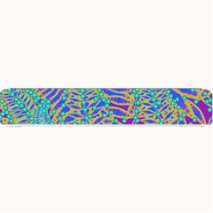 Abstract Floral Background Small Bar Mats