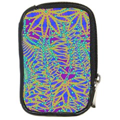 Abstract Floral Background Compact Camera Cases