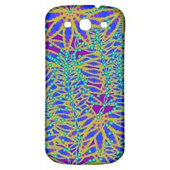 Abstract Floral Background Samsung Galaxy S3 S Iii Classic Hardshell Back Case