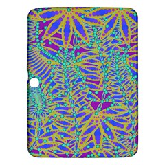 Abstract Floral Background Samsung Galaxy Tab 3 (10 1 ) P5200 Hardshell Case