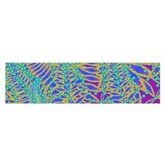 Abstract Floral Background Satin Scarf (oblong)