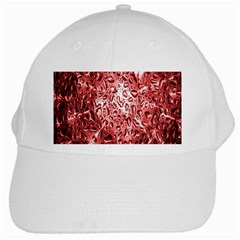 Water Drops Red White Cap by Nexatart