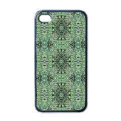 Seamless Abstraction Wallpaper Digital Computer Graphic Apple Iphone 4 Case (black)