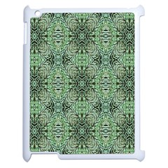 Seamless Abstraction Wallpaper Digital Computer Graphic Apple Ipad 2 Case (white) by Nexatart