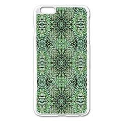 Seamless Abstraction Wallpaper Digital Computer Graphic Apple Iphone 6 Plus/6s Plus Enamel White Case by Nexatart