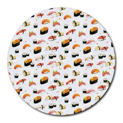 Sushi Lover Round Mousepads
