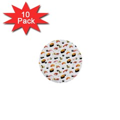 Sushi Lover 1  Mini Buttons (10 Pack)