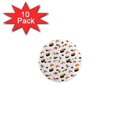 Sushi Lover 1  Mini Magnet (10 Pack)  by tarastyle
