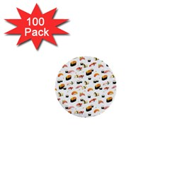 Sushi Lover 1  Mini Buttons (100 Pack)  by tarastyle