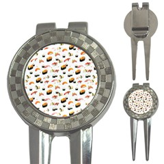 Sushi Lover 3 In 1 Golf Divots