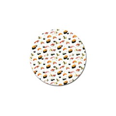 Sushi Lover Golf Ball Marker (4 Pack) by tarastyle