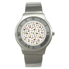 Sushi Lover Stainless Steel Watch
