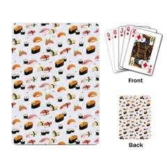 Sushi Lover Playing Card by tarastyle
