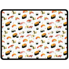 Sushi Lover Fleece Blanket (large)