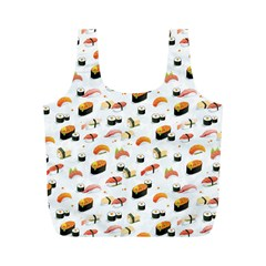 Sushi Lover Full Print Recycle Bags (m)  by tarastyle