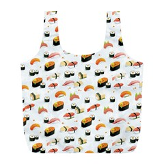 Sushi Lover Full Print Recycle Bags (l)