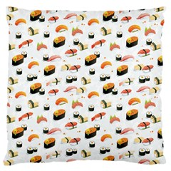 Sushi Lover Large Flano Cushion Case (two Sides) by tarastyle