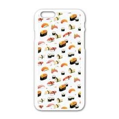 Sushi Lover Apple Iphone 6/6s White Enamel Case