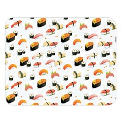 Sushi Lover Double Sided Flano Blanket (large)  by tarastyle