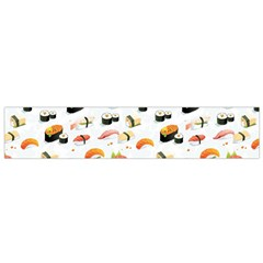 Sushi Lover Flano Scarf (small) by tarastyle