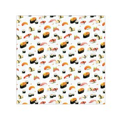 Sushi Lover Small Satin Scarf (square)
