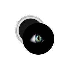 Eye On The Black Background 1 75  Magnets by Nexatart