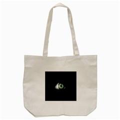 Eye On The Black Background Tote Bag (cream) by Nexatart