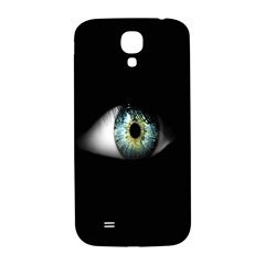 Eye On The Black Background Samsung Galaxy S4 I9500/i9505  Hardshell Back Case by Nexatart