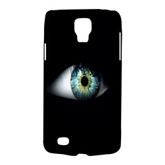 Eye On The Black Background Galaxy S4 Active by Nexatart