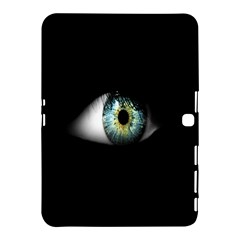 Eye On The Black Background Samsung Galaxy Tab 4 (10 1 ) Hardshell Case