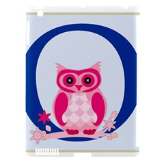 Alphabet Letter O With Owl Illustration Ideal For Teaching Kids Apple Ipad 3/4 Hardshell Case (compatible With Smart Cover) by Nexatart
