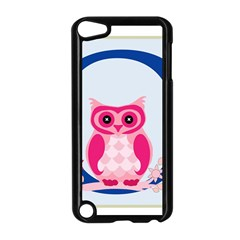 Alphabet Letter O With Owl Illustration Ideal For Teaching Kids Apple Ipod Touch 5 Case (black)
