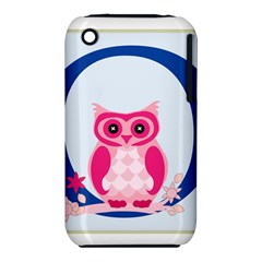 Alphabet Letter O With Owl Illustration Ideal For Teaching Kids Iphone 3s/3gs