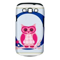 Alphabet Letter O With Owl Illustration Ideal For Teaching Kids Samsung Galaxy S Iii Classic Hardshell Case (pc+silicone) by Nexatart