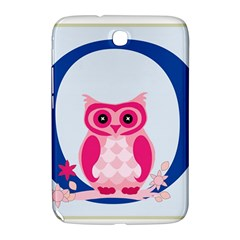 Alphabet Letter O With Owl Illustration Ideal For Teaching Kids Samsung Galaxy Note 8 0 N5100 Hardshell Case