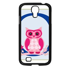 Alphabet Letter O With Owl Illustration Ideal For Teaching Kids Samsung Galaxy S4 I9500/ I9505 Case (black) by Nexatart