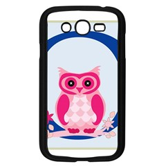 Alphabet Letter O With Owl Illustration Ideal For Teaching Kids Samsung Galaxy Grand Duos I9082 Case (black)