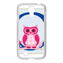 Alphabet Letter O With Owl Illustration Ideal For Teaching Kids Samsung Galaxy S4 I9500/ I9505 Case (white) by Nexatart