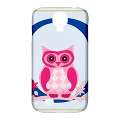 Alphabet Letter O With Owl Illustration Ideal For Teaching Kids Samsung Galaxy S4 Classic Hardshell Case (pc+silicone) by Nexatart